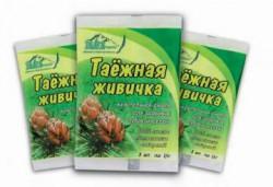 Жевательная смолка, 1.4 г №3 Живичка таежная из смолы лиственницы сибирской