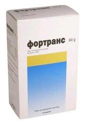 Фортранс, пор. д/р-ра д/приема внутрь 64 г+10 г №4 пакетики