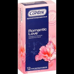 Презервативы, Контекс №12 романтик лав ароматизированные