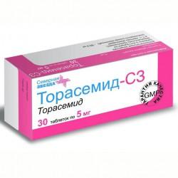 Торасемид-СЗ, табл. 5 мг №30