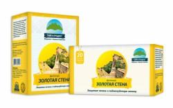 Фиточай, Золотая стена ф/пак. 1.5 г №20 защита печени и поджелудочной железы