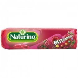 Пастилки, Натурино 36.4 г с витаминами малина