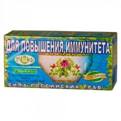 Фиточай, Сила российских трав ф/пак. 1.5 г №20 Стевия №29 Повышающий иммунитет