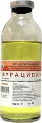 Фурацилин, р-р д/местн. и наружн. прим. 0.02% 200 мл №1 бутылки