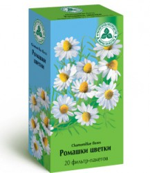 Ромашки цветки, ф/пак. 1.5 г №20
