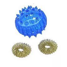 Набор су-джок, два кольца и шарик