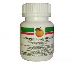 Аскорбиновая кислота с глюкозой, табл. 100 мг №40