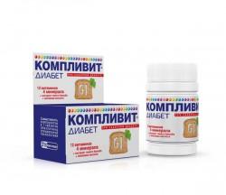 Компливит Диабет, табл. 682 мг №30